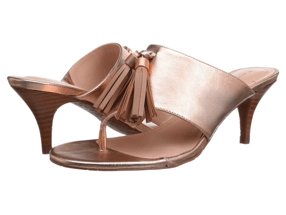 Tahari - Rowan (Rosegold/Dove Metallic) Women's Sandals