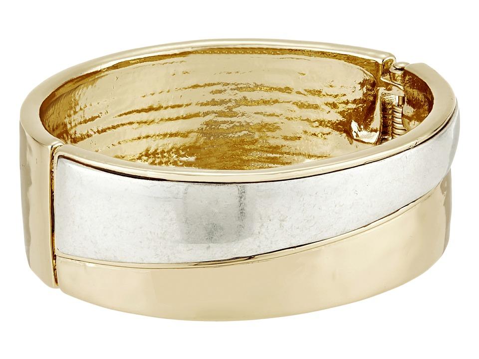 Robert Lee Morris - Two-Tone Hinge Bangle Bracelet (Two-Tone) Bracelet