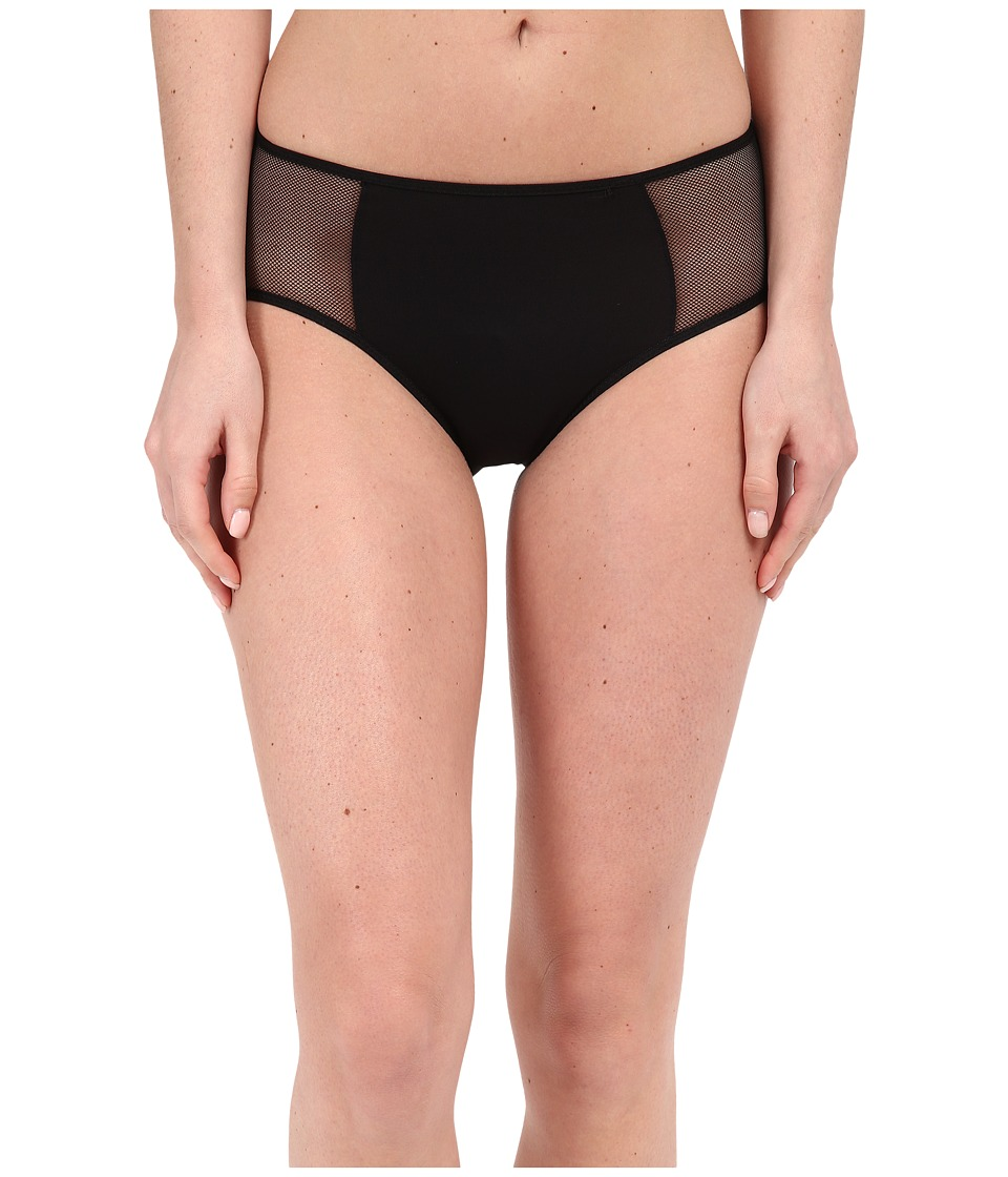 Wacoal - Body By Hi-Cut Brief (Black) Women's Underwear
