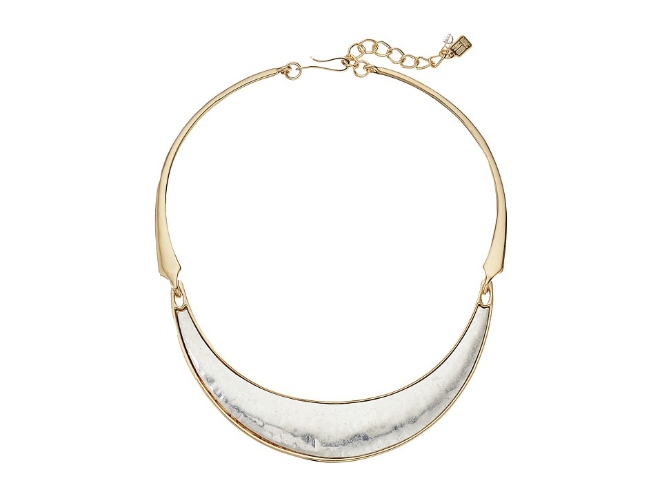 Robert Lee Morris - Two-Tone Wide Collar Necklace (Two-Tone) Necklace