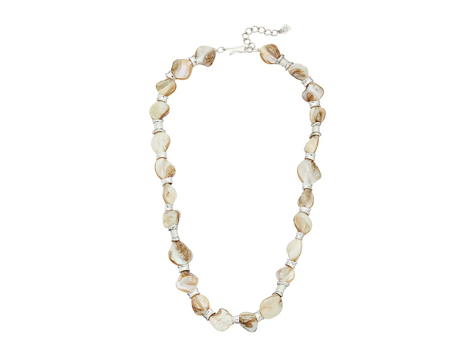 Robert Lee Morris - Shell Single Row Necklace (Natural) Necklace