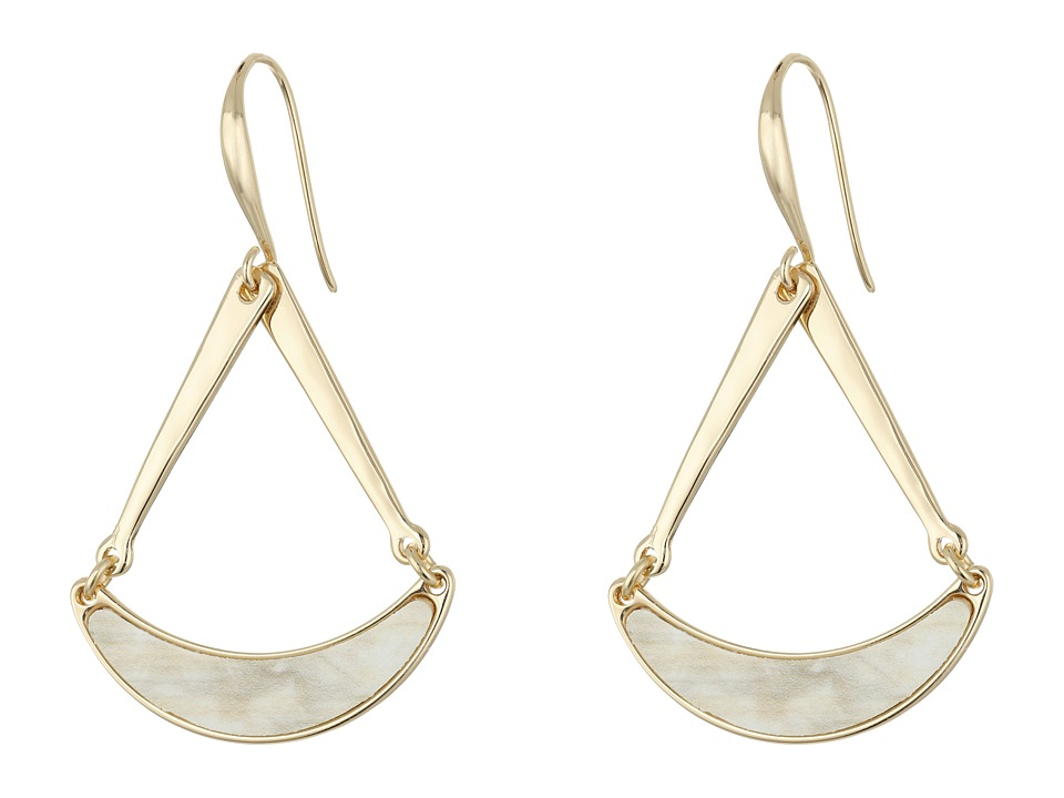 Robert Lee Morris - Horn Triangle Drop Earrings (Horn) Earring