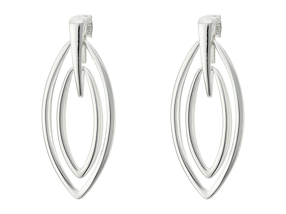Robert Lee Morris - Silver Gypsy Drop Earrings (Shiny Silver) Earring