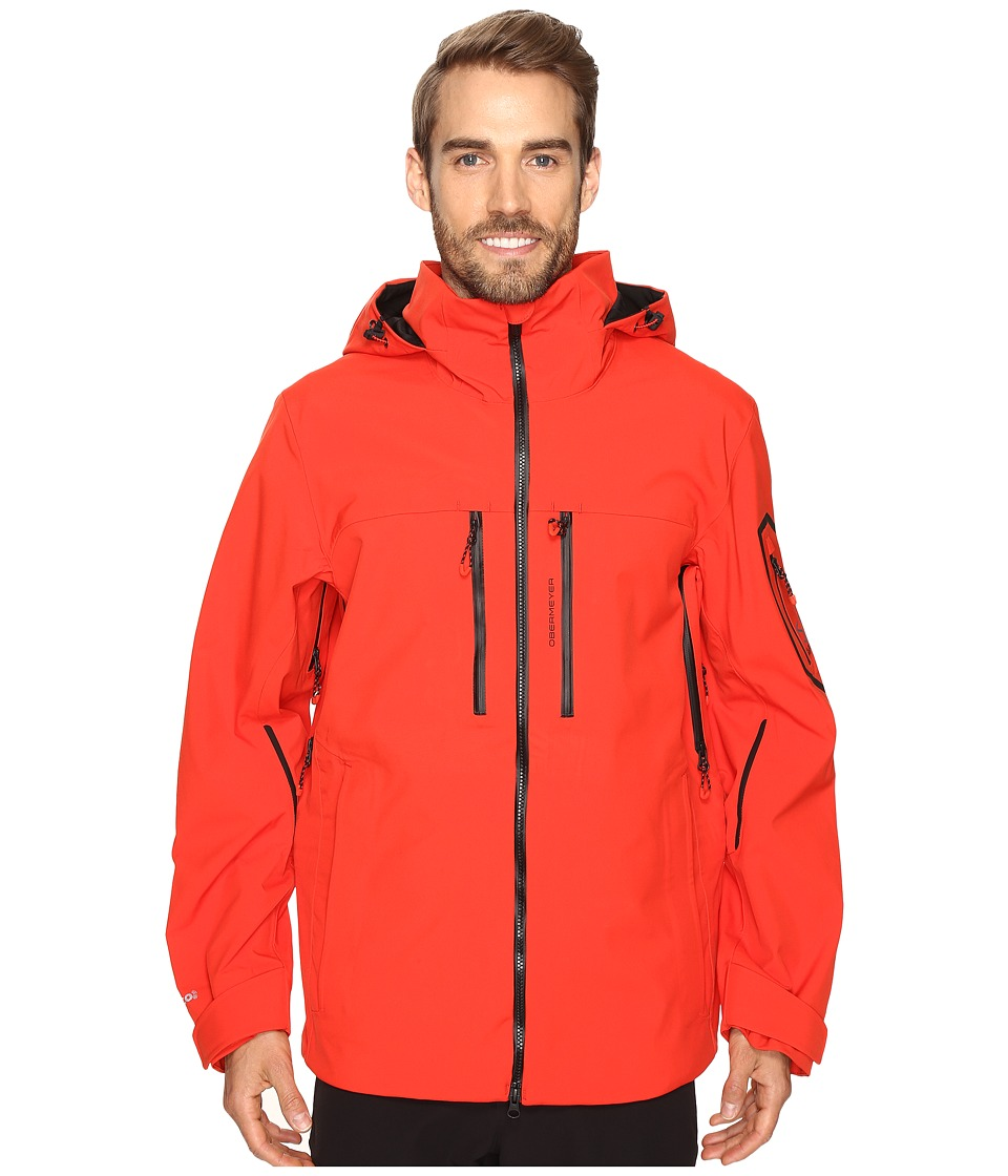 Obermeyer - Supernova Shell (Red) Men's Clothing