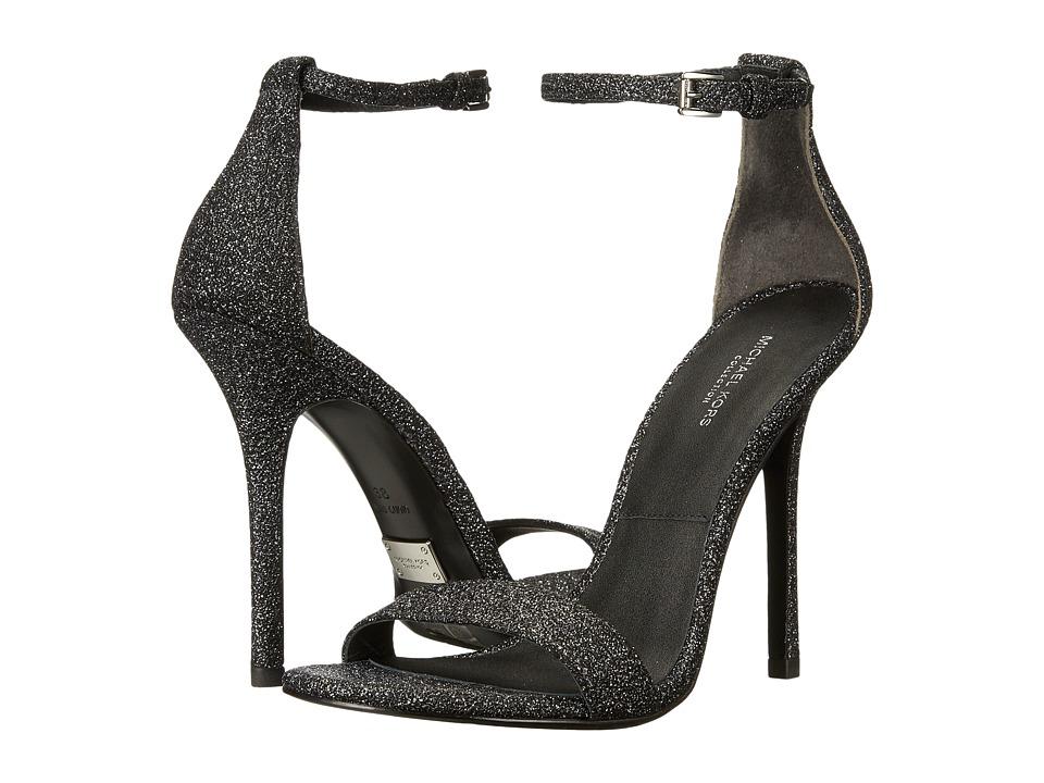 Michael Kors - Jacqueline (Black Glitter Metallic) High Heels