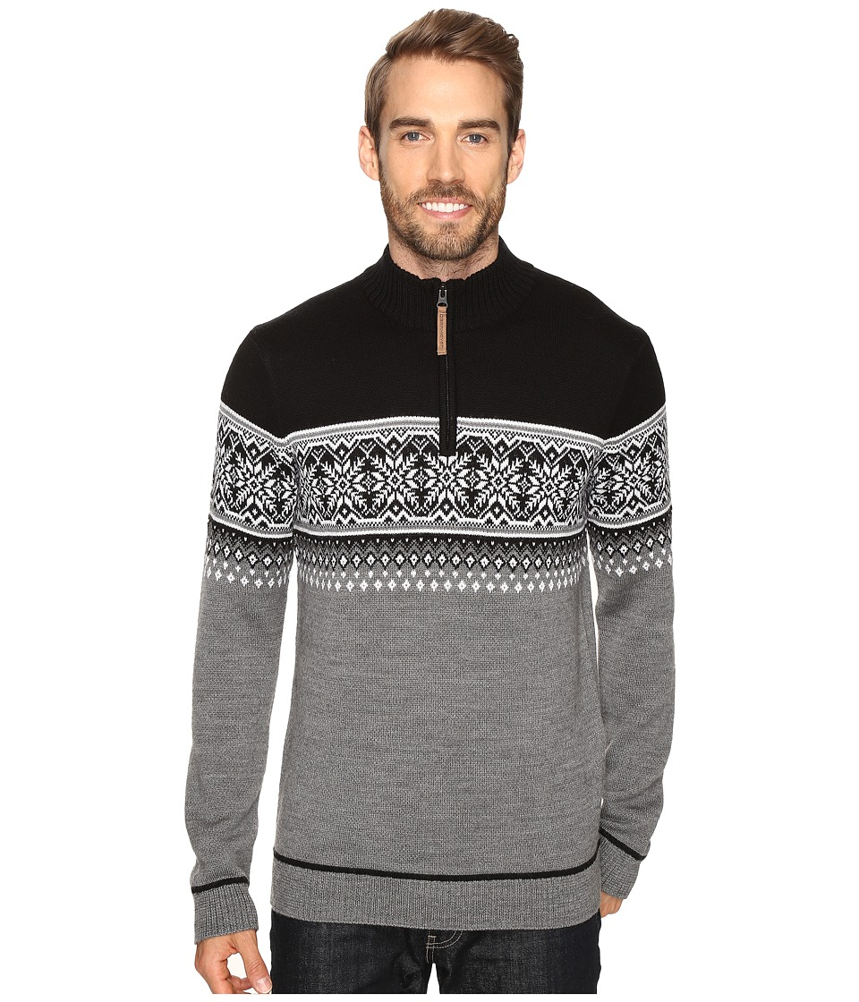Obermeyer - Bryce 1/4 Zip Sweater (Light Heather Grey) Men's Sweater
