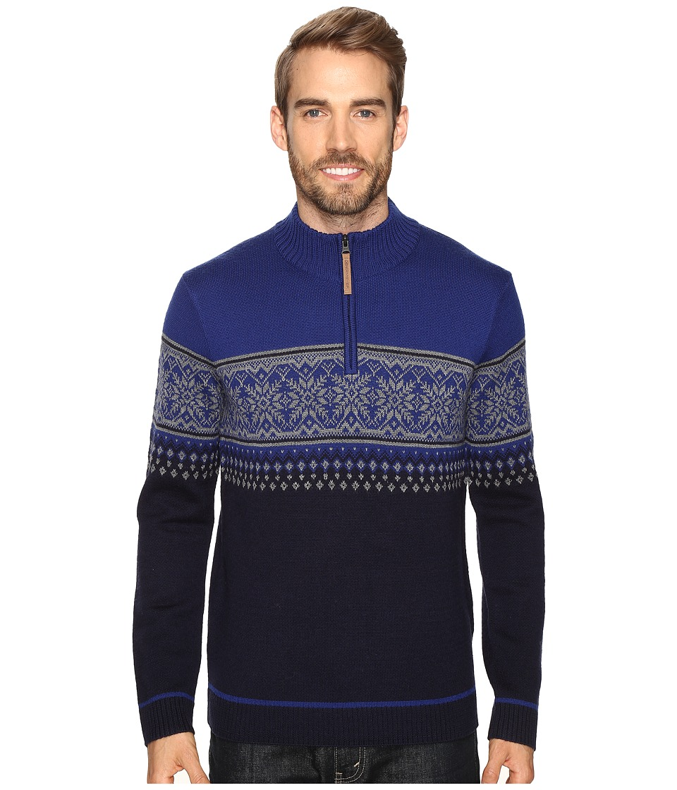 Obermeyer - Bryce 1/4 Zip Sweater (Storm Cloud) Men's Sweater