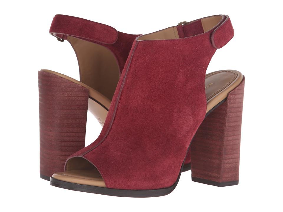 Michael Kors - Maeve (Merlot Sport Suede) Women's Sandals