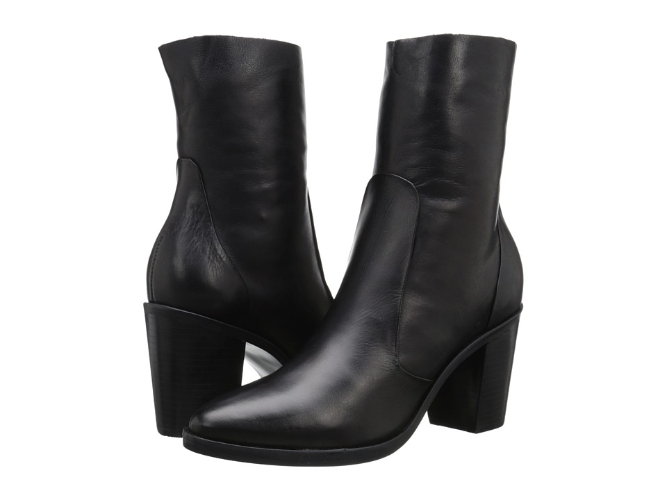 Steve Madden - Mareena (Black Leather) Women