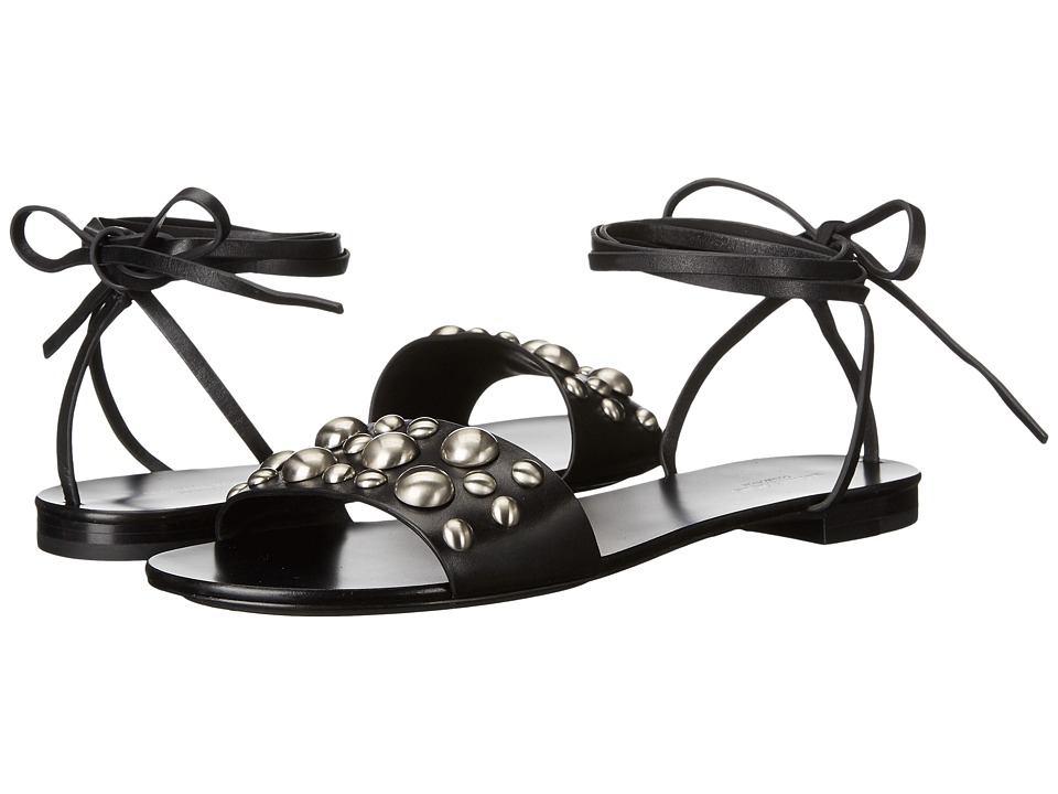 Michael Kors - Mica (Black Vachetta/Studs) Women's Dress Sandals