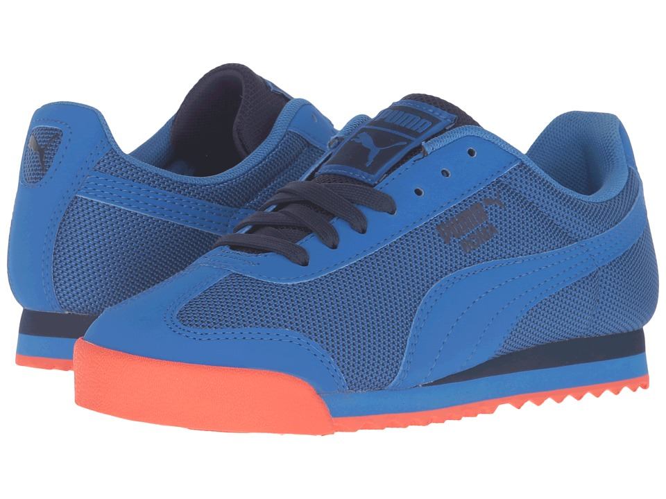 Puma Kids - Roma HM Jr (Big Kid) (Puma Royal/Puma Royal) Boys Shoes