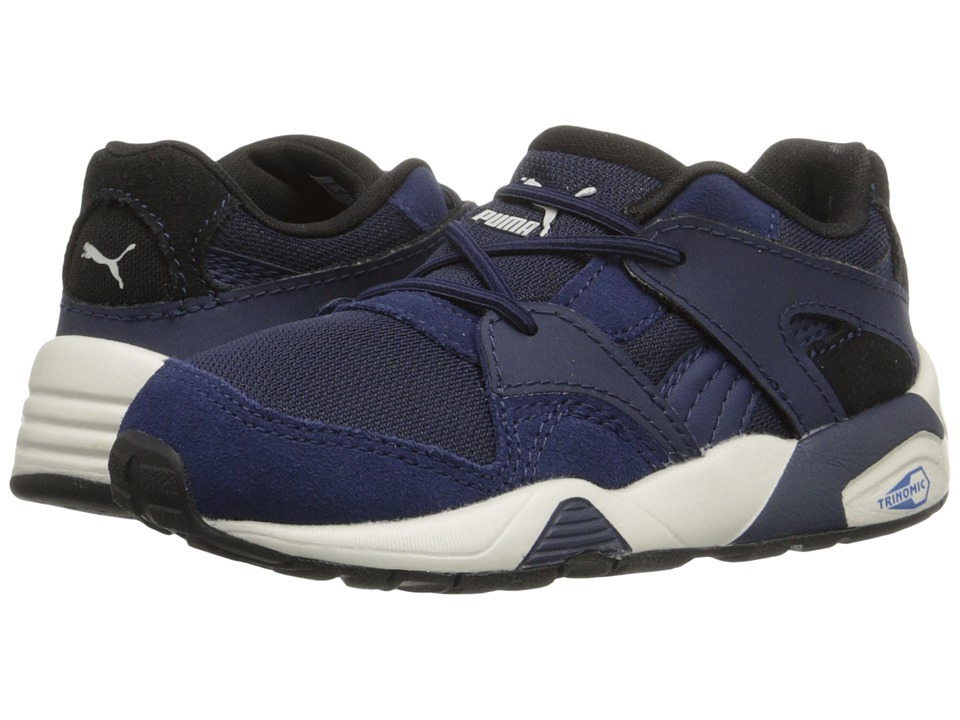 Puma Kids - Blaze Inf (Toddler) (Peacoat/Puma Black) Boys Shoes