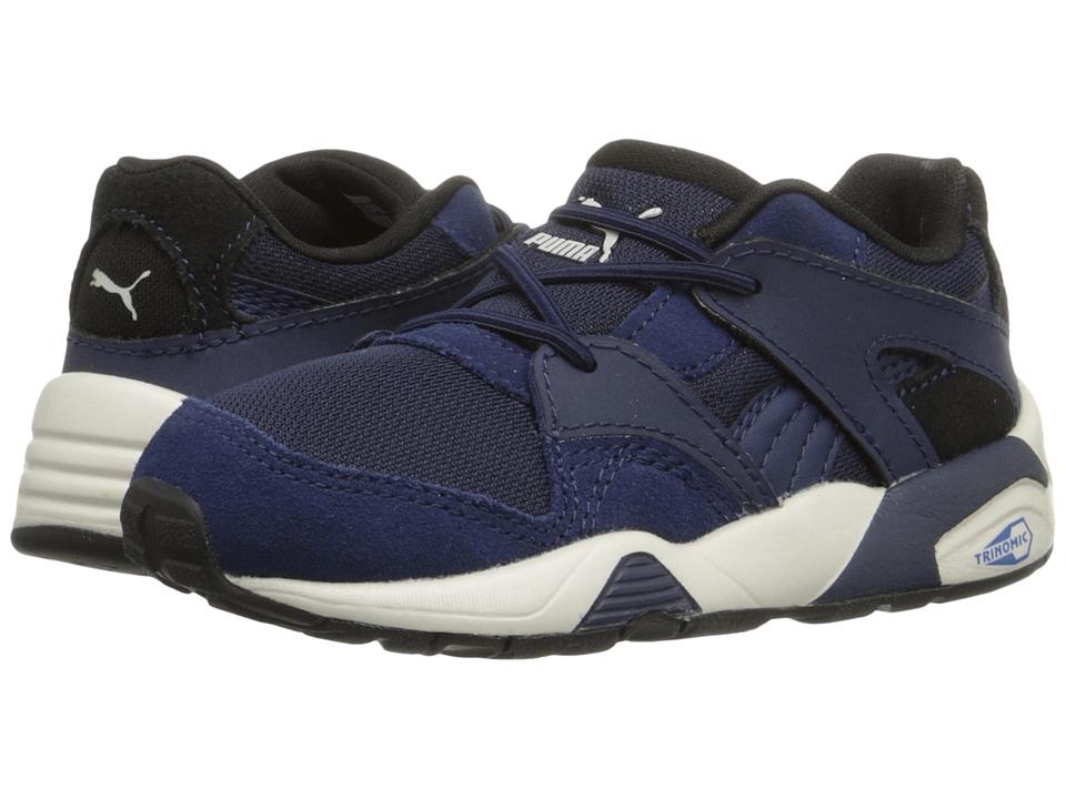 Puma Kids - Blaze Inf (Toddler) (Peacoat/Puma Black) Boys Shoes