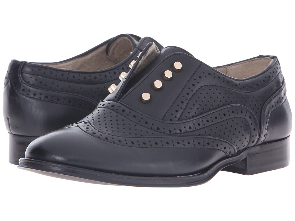 Steve Madden - Frnklin (Black) Women's Slip-on Dress Shoes