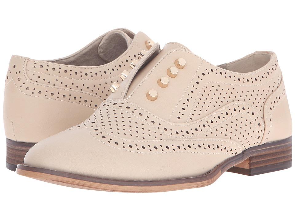 Steve Madden - Frnklin (Natural) Women's Slip-on Dress Shoes