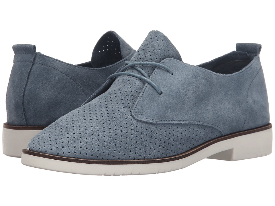 Steve Madden - Tripit (Blue Suede) Women's Lace up casual Shoes