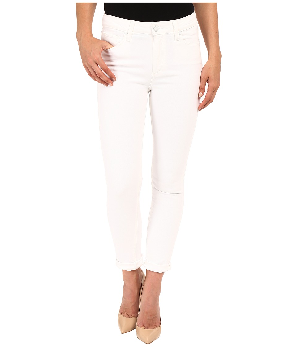 Paige - Hoxton Crop Roll Up in Optic White (Optic White) Women's Jeans