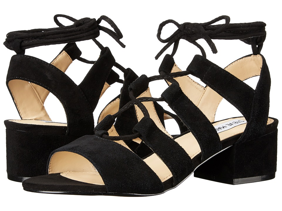 Steve Madden - Kittyy (Black Suede) High Heels