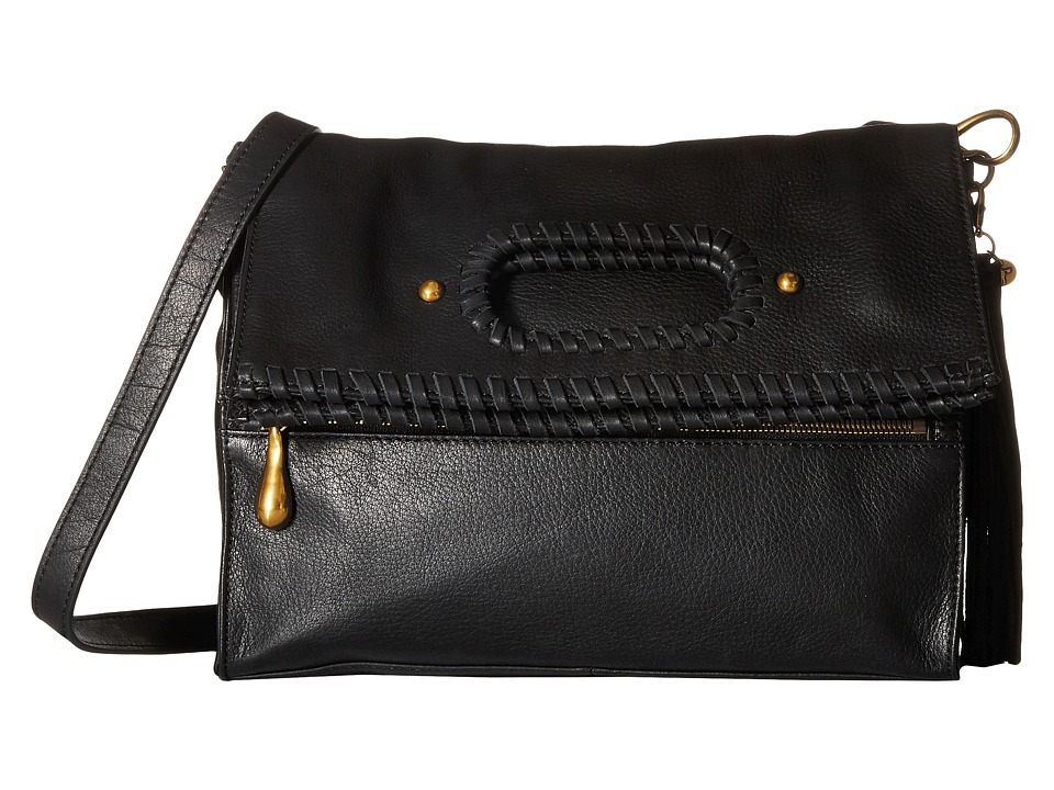 Hobo - Albany (Black) Cross Body Handbags