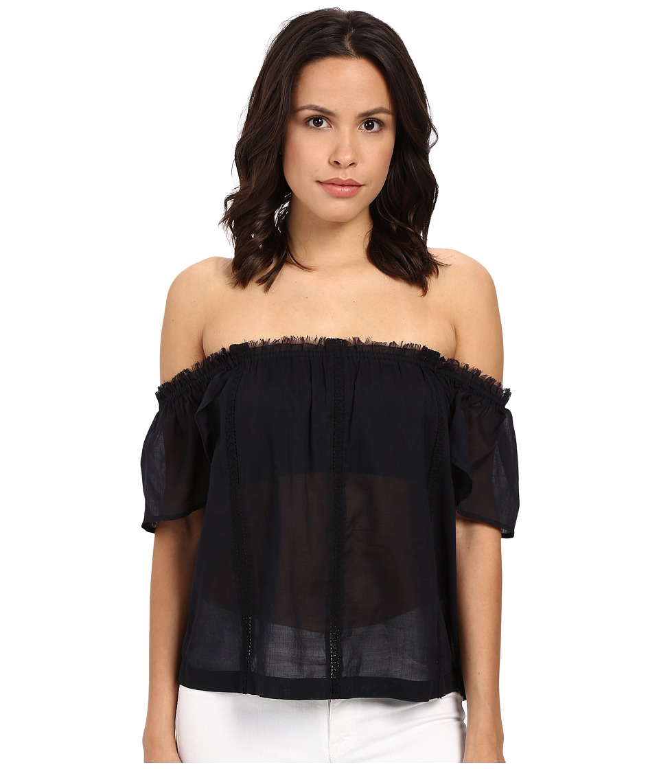 Paige - Lucille Blouse (Black) Women's Blouse