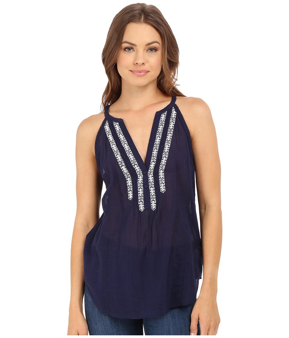 Paige - Tyra Tank Top (Evening Blue) Women's Blouse