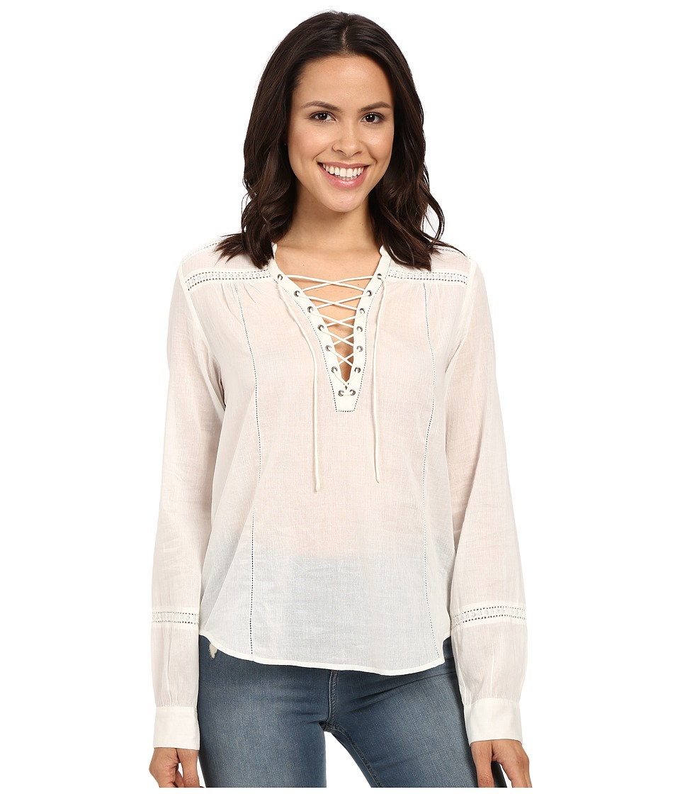 Paige - Tansy Blouse (White) Women's Blouse