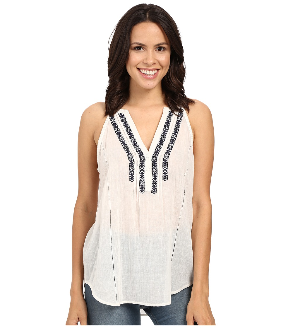 Paige - Tyra Tank Top (White) Women's Blouse