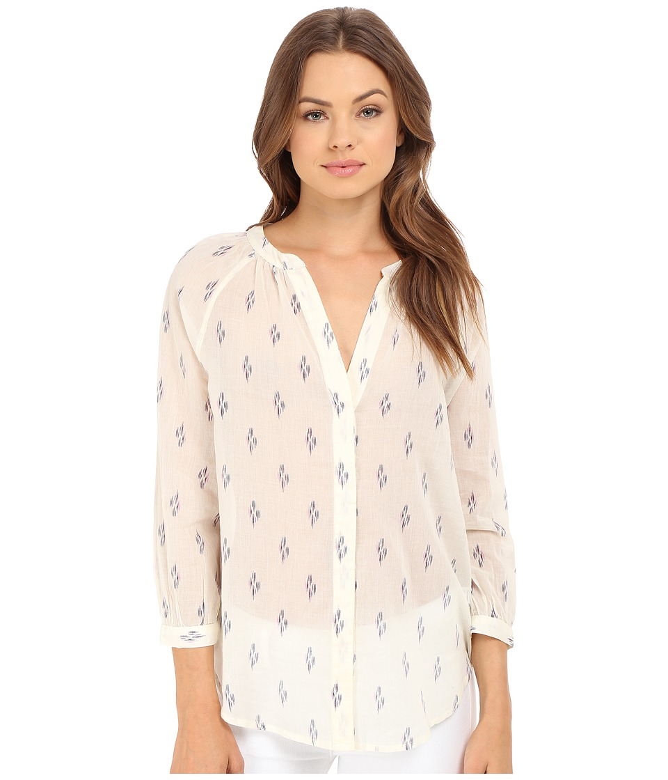 Paige - Sammy Top (White/Evening Blue/Orchid) Women's Blouse