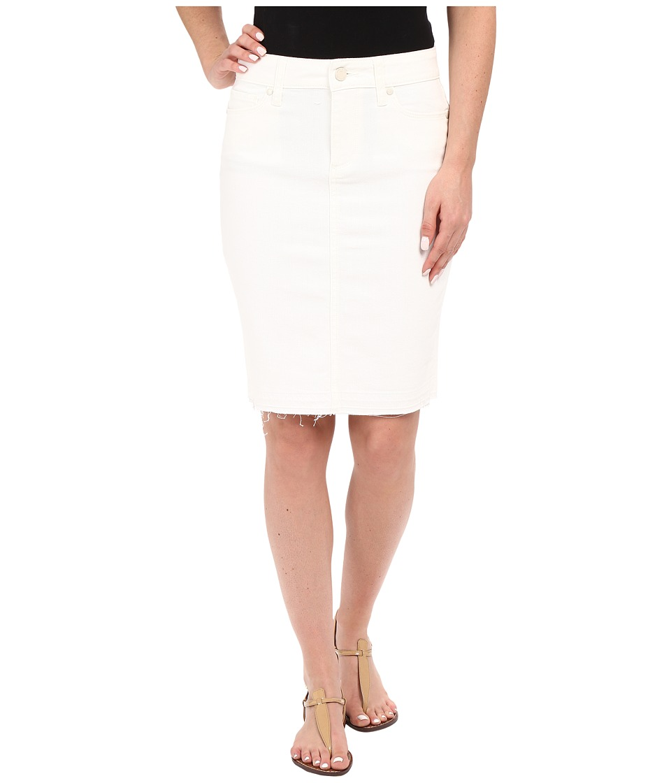 Paige - Dierdre Skirt w/ Undone Hem (Bone) Women's Skirt