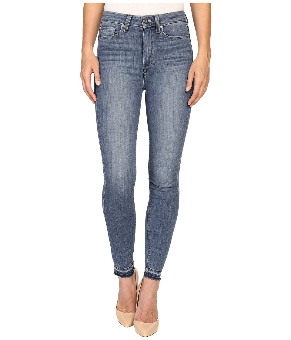 Paige - Margot Ankle w/ Undone Hem in Ellington (Ellington) Women's Jeans