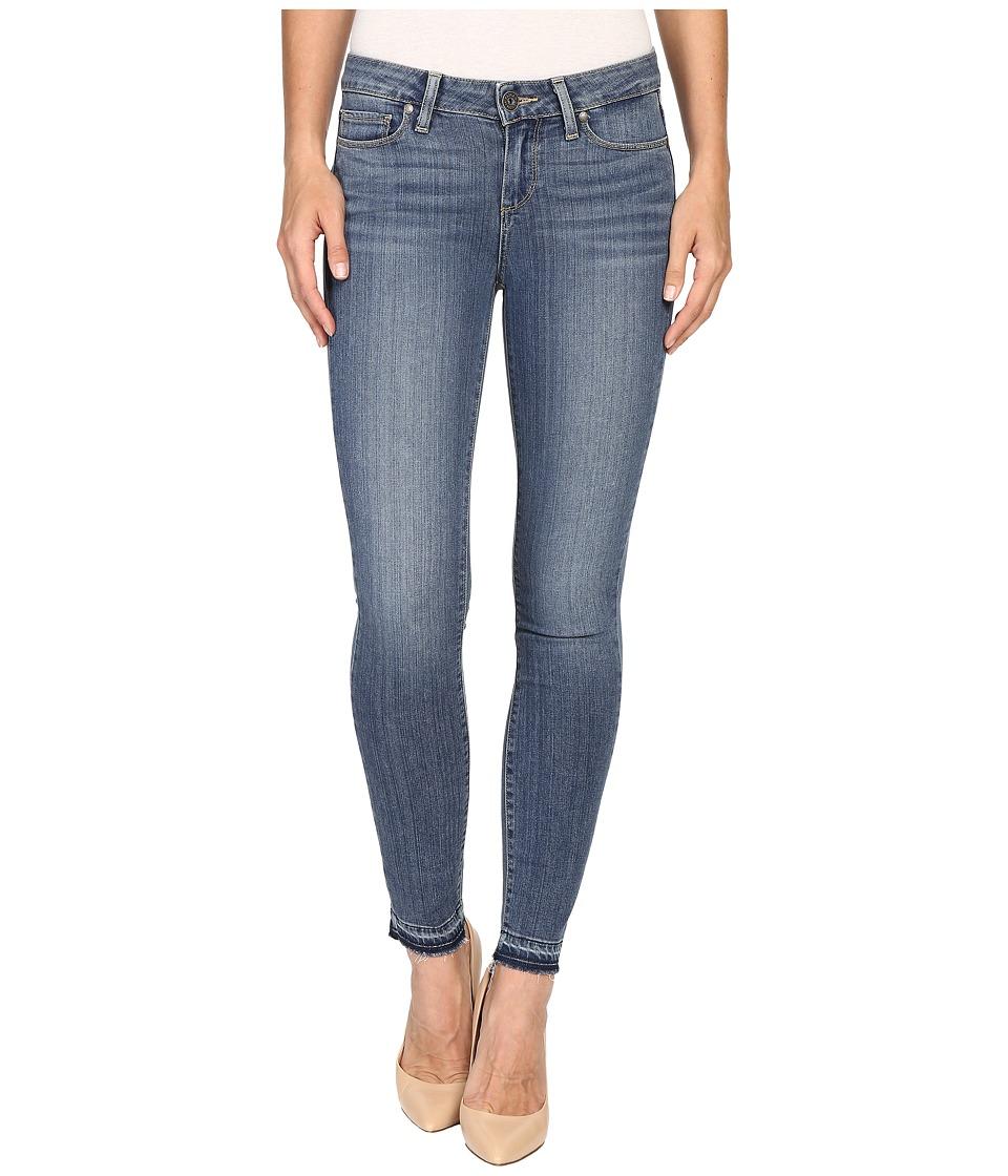 Paige - Verdugo Ankle w/ Undone Hem in Ellington (Ellington) Women's Jeans
