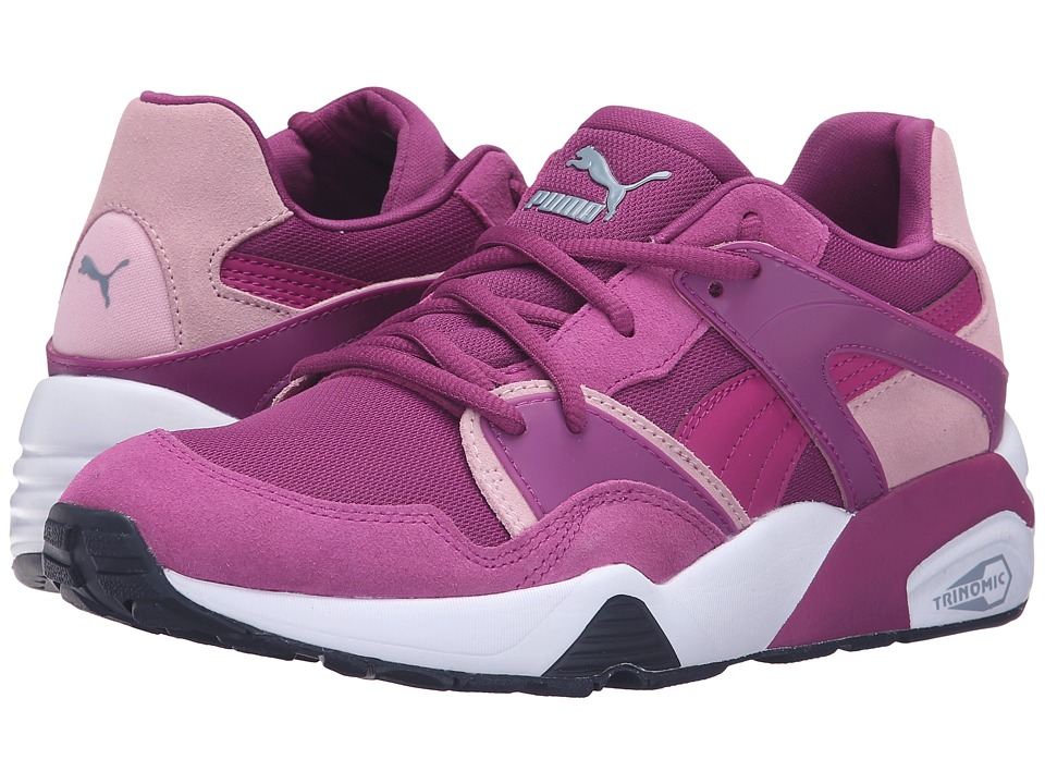 Puma Kids Blaze Jr (Big Kid) (Hollyhock/Pastel Lavender) Girls Shoes