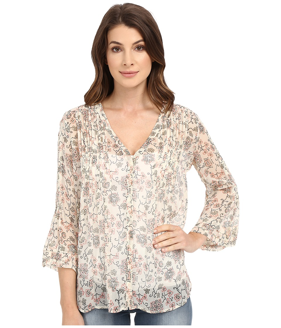 Paige - Nora Blouse (Cream/Cedar) Women's Blouse