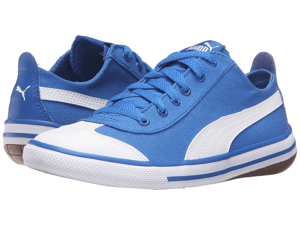 Puma Kids - 917 FUN PS (Little Kid/Big Kid) (Puma Royal/Puma White) Boys Shoes