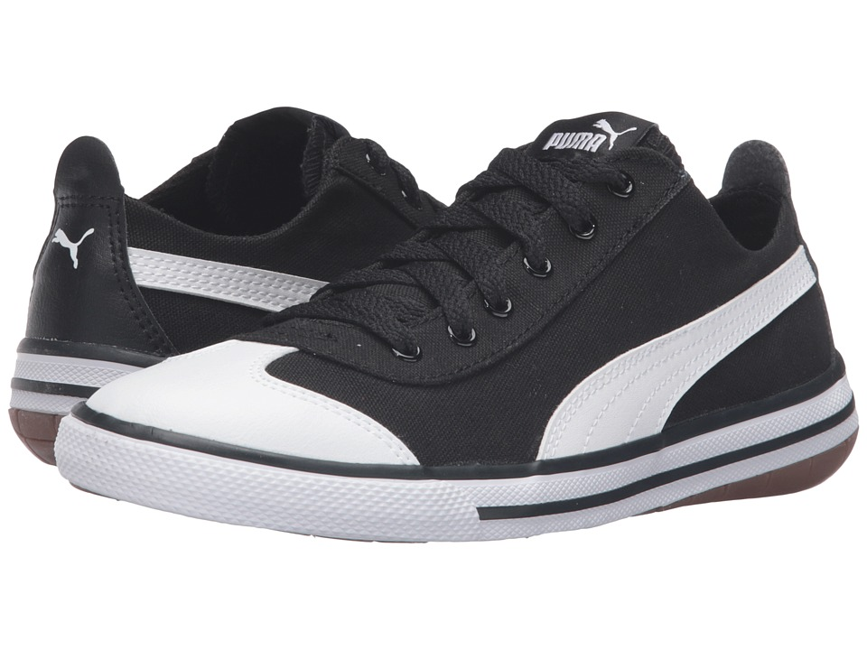 Puma Kids - 917 FUN PS (Little Kid/Big Kid) (Puma Black/Puma White) Boys Shoes