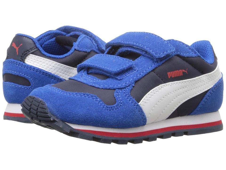 Puma Kids - ST Runner NL V Inf (Toddler) (Peacoat/Puma White) Boys Shoes