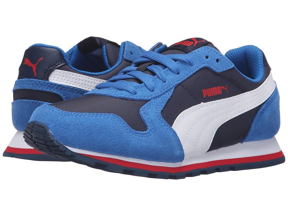 Puma Kids - ST Runner NL Jr (Big Kid) (Peacoat/Puma White) Boys Shoes