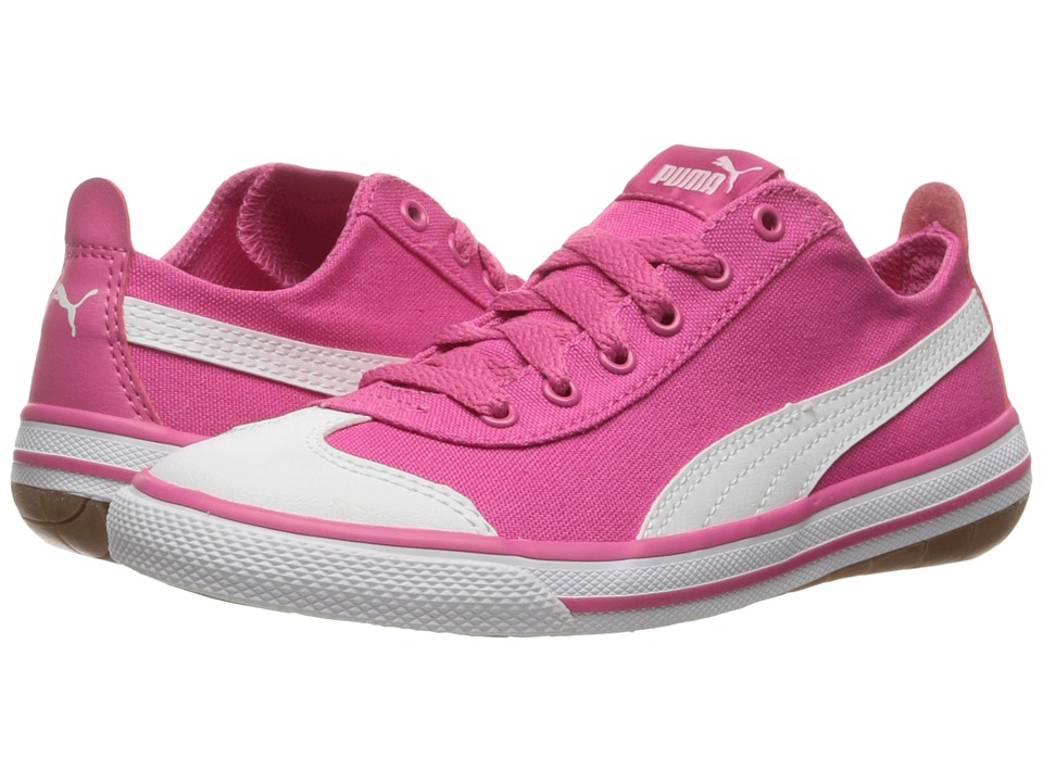 Puma Kids - 917 FUN PS (Little Kid/Big Kid) (Fandango Pink/Puma White) Girls Shoes