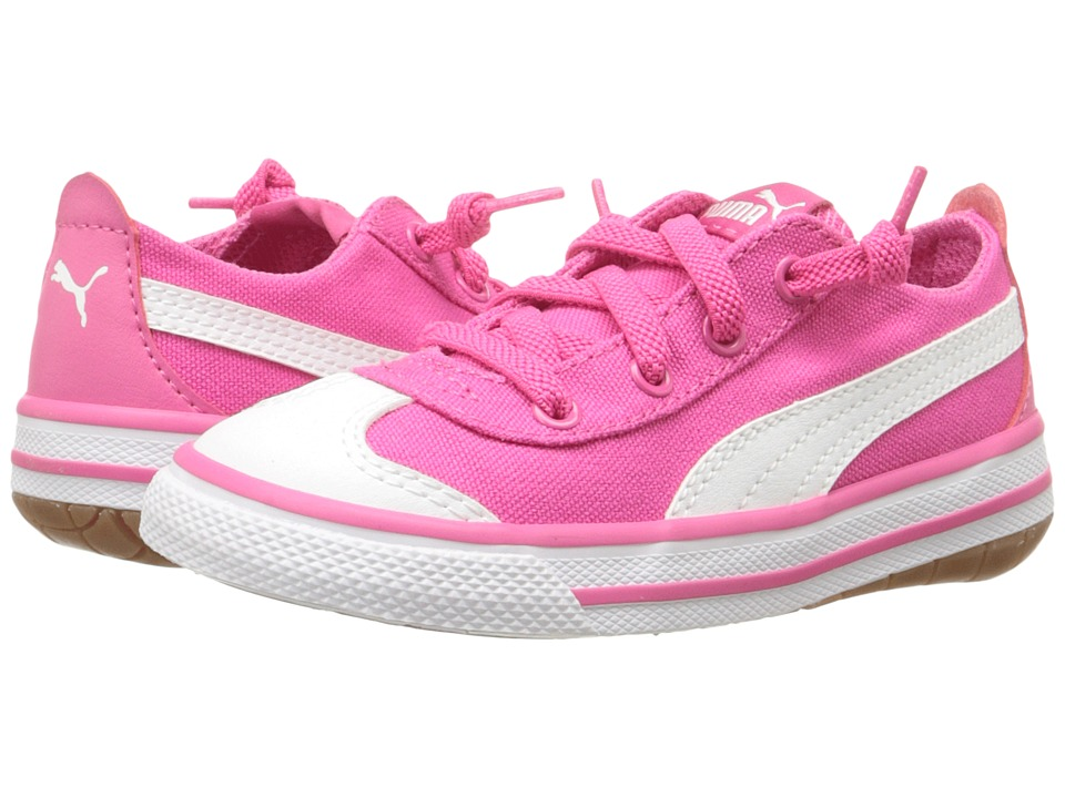 Puma Kids - 917 FUN AC Inf (Toddler) (Fandango Pink/Puma White) Girls Shoes