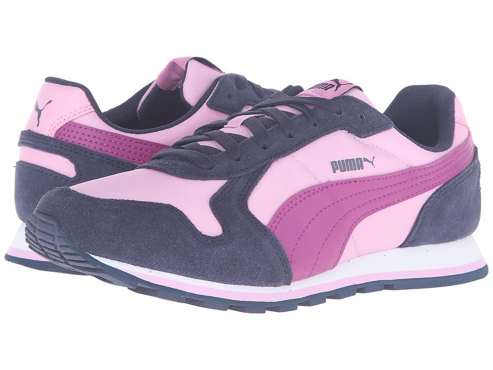 Puma Kids - ST Runner NL Jr (Big Kid) (Pastel Lavender/Puma White) Girls Shoes