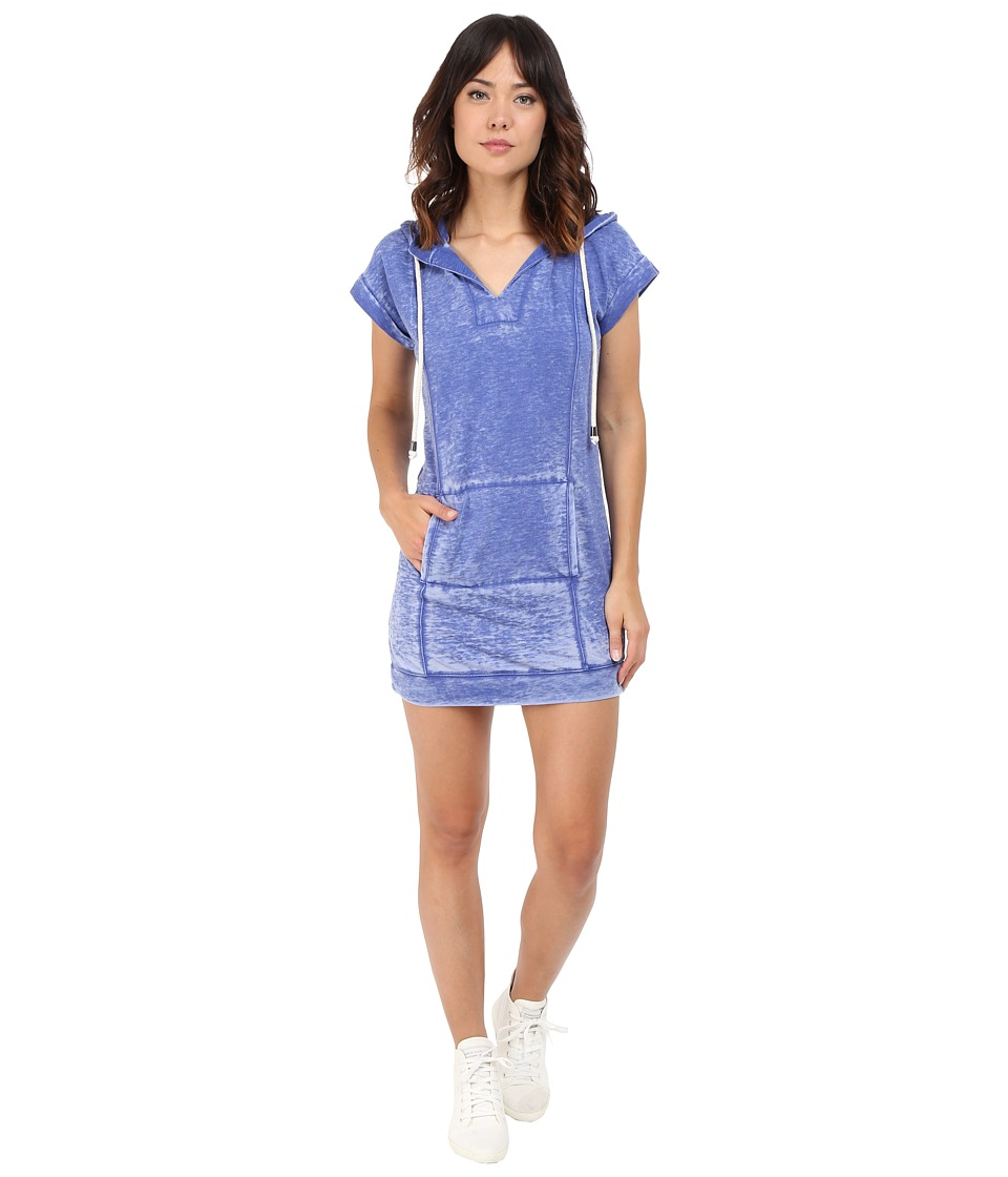 Splendid - Burnout Active Dress (Cobalt Blue) Women's Dress
