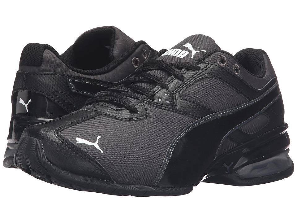 Puma Kids - Tazon 6 Ripstop Jr (Big Kid) (Asphalt/Puma Black) Boys Shoes