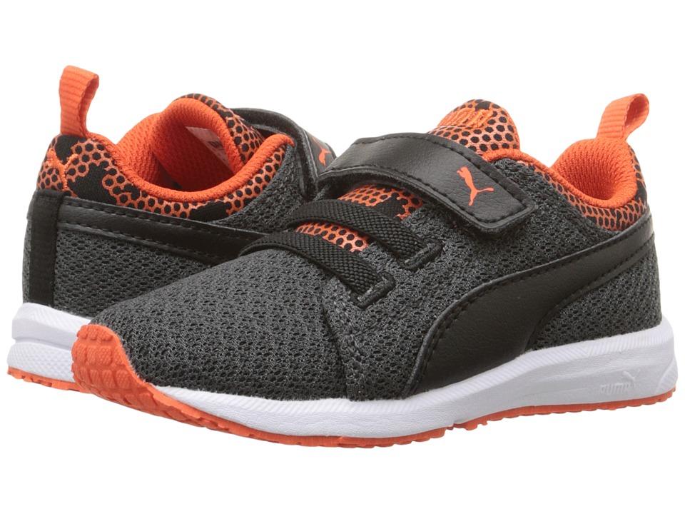 Puma Kids Carson Runner Night Camo V Inf (Toddler) (Dark Shadow/Puma Black) Boys Shoes
