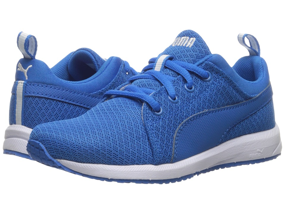 Puma Kids Carson Mesh PS (Little Kid/Big Kid) (Electric Blue Lemonade/Electric Blue Lemonade) Boys Shoes