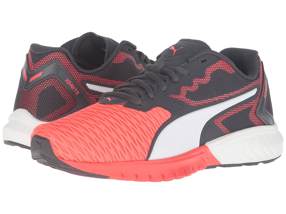 Puma Kids IGNITE Dual Jr (Big Kid) (Red Blast/Puma White) Boys Shoes