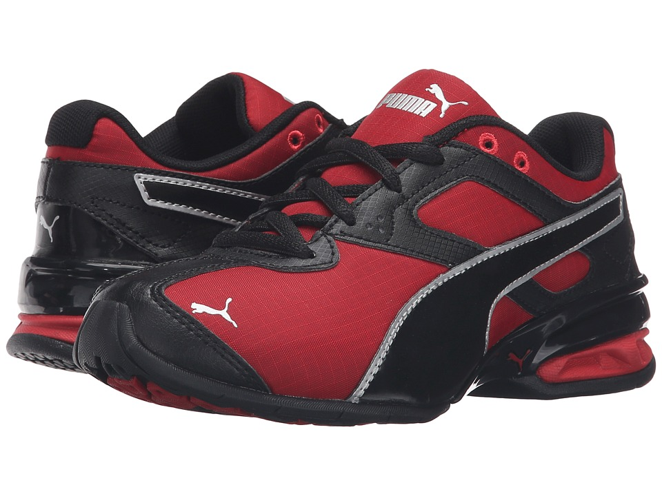 Puma Kids - Tazon 6 Ripstop PS (Little Kid/Big Kid) (Barbados Cherry/Puma Black) Boys Shoes