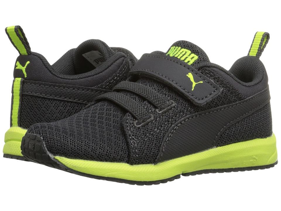 Puma Kids Carson Mesh V Inf (Toddler) (Asphalt/Asphalt) Boys Shoes