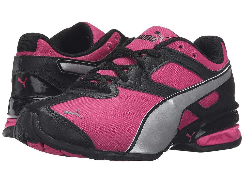 Puma Kids - Tazon 6 Ripstop PS (Little Kid/Big Kid) (Fuchsia Purple/Puma Silver) Girls Shoes