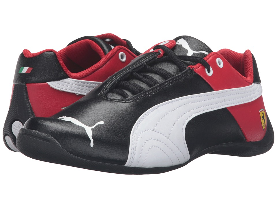 Puma Kids - Future Cat SF Jr (Big Kid) (Puma Black/Puma White) Boys Shoes