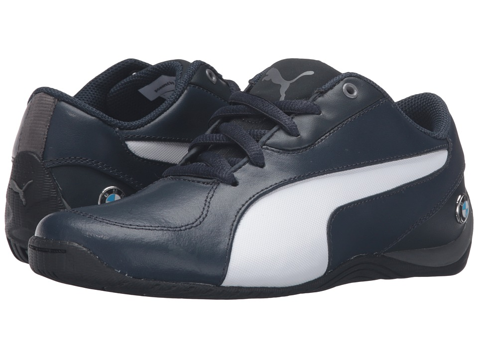 Puma Kids Drift Cat 5 L BMW NU Jr (Big Kid) (Team Blue/Puma White) Boys Shoes